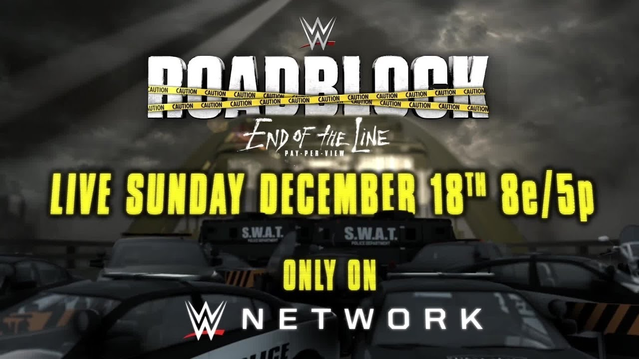 Image result for roadblock end of the line 2016