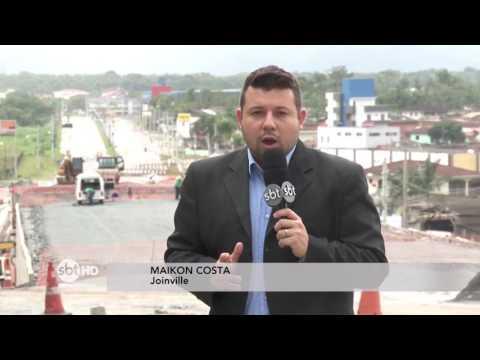 Governador Raimundo Colombo autoriza edital para obras de duplicação em Joinville