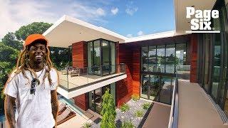 Inside Lil Wayne's $17 million Miami Beach mansion | Unreal Estate | Page Six