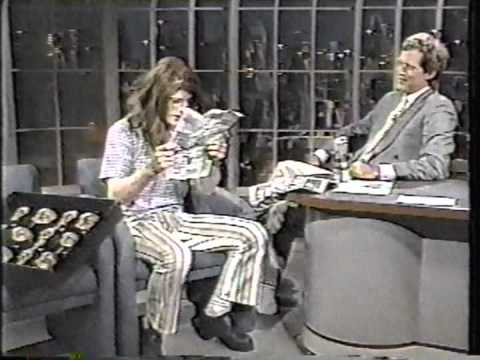 Crispin Glover on Letterman  1st Appearance  Full , good quality
