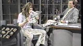 Crispin Glover on Letterman - 1st Appearance - Full clip, good quality