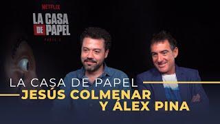 'La Casa de Papel' [tercera temporada] Entrevista a Álex Pina y Jesús Colmenar