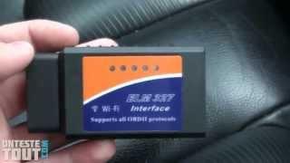 Lunaris2142 teste l'interface diagnostic ELM 327 Wifi
