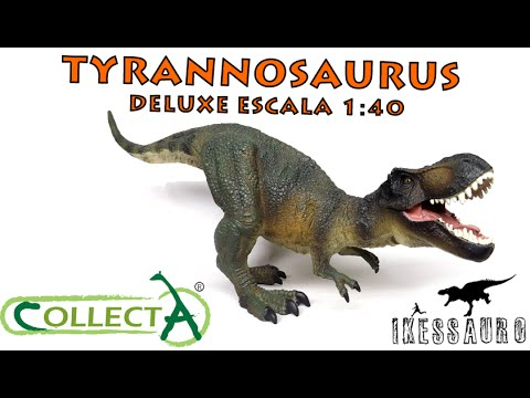 Tyrannosaurus Rex 29 cm T-Rex Deluxe 1:40 Dinosaures Collecta 88251