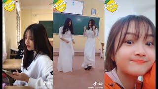 😎 Học sinh Việt Nam chơi  tik tok Lầy như thế nào ?  --   Tiktok   Douyin   Chanh Leo TV