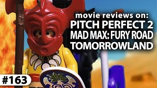 """MAD MAX Movie Review + """"Pitch Perfect 2"""" and """"Tomorrowland"""""""