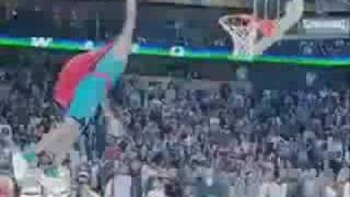 Dwight Howard Superman Dunk 2008 sprite slamdunk contest