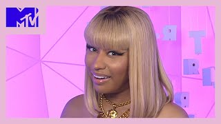 Nicki Minaj Reads IG Comments from Ariana Grande, Lauren Jauregui, & Fans   Most Extra   MTV