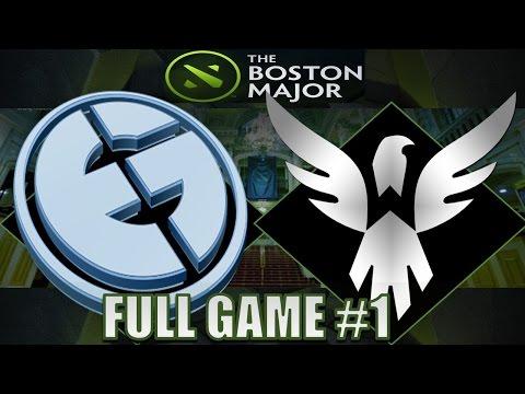 Evil Geniuses VS Wings Gaming #1| Boston Major | Dota 2 Full Game