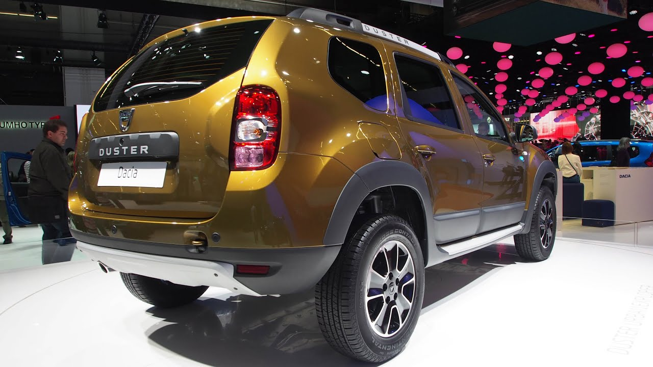 2016 dacia duster urban explorer dci 110 80 kw 4x2 diesel r16 exterior walkaround youtube. Black Bedroom Furniture Sets. Home Design Ideas