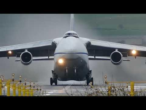 Antonov An-225, An-124, An-22 and An-12