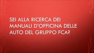 Manuali d'officina download gratis (Fiat, Alfa Romeo, Lancia, FCA)