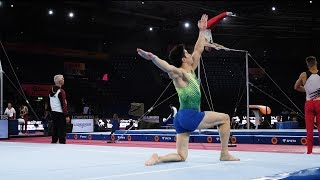 Arthur Nory (BRA) FX 2019 Worlds Stuttgart - Podium Training