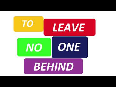 Join the Leave No One Behind Conversations
