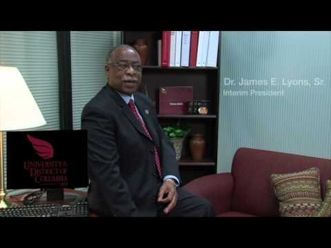 University of the District of Columbia President Talks About Tom Joyner Foundation Campaign