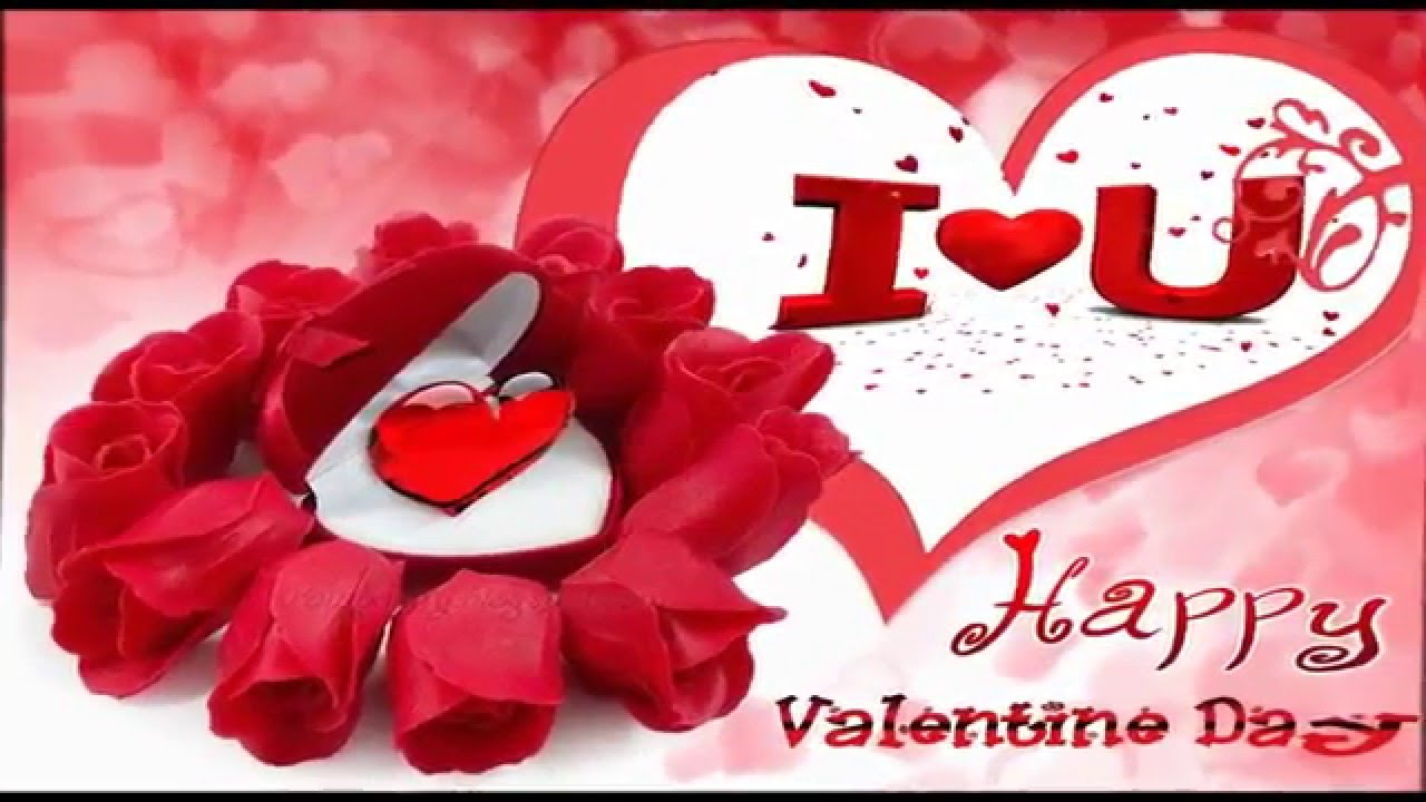 Romantic Happy Valentines Day Wishes Message Video Greeting For