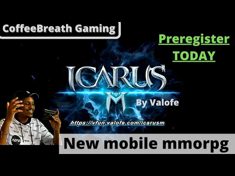 Icarus M: Riders of Icarus - Brand new mobile mmorpg by VALOFE - Pre registrations available TODAY