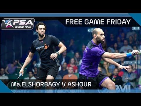 Squash: Free Game Friday - Ma.ElShorbagy v Ashour - Bellevue Squash Classic 2017