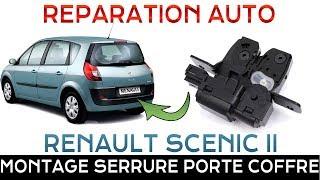 🛠 Entretien Auto : Monter une serrure de porte de coffre sur Renault Mégane Scenic 2