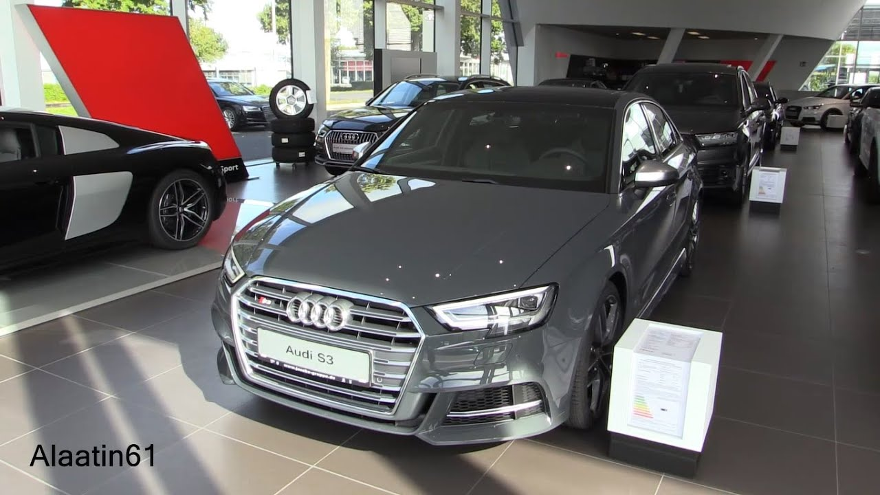 2017 Audi S3 Nano Grey >> Audi S3 Facelift 2017 Exhaust Sound, In Depth Review Interior Exterior - YouTube