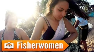Sri Lanka 19: FISHERWOMEN [GoPro Hero 4 vlog]