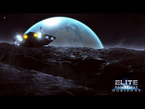 [FR] Découverte Elite Dangerous Horizons : Balade sur planète !