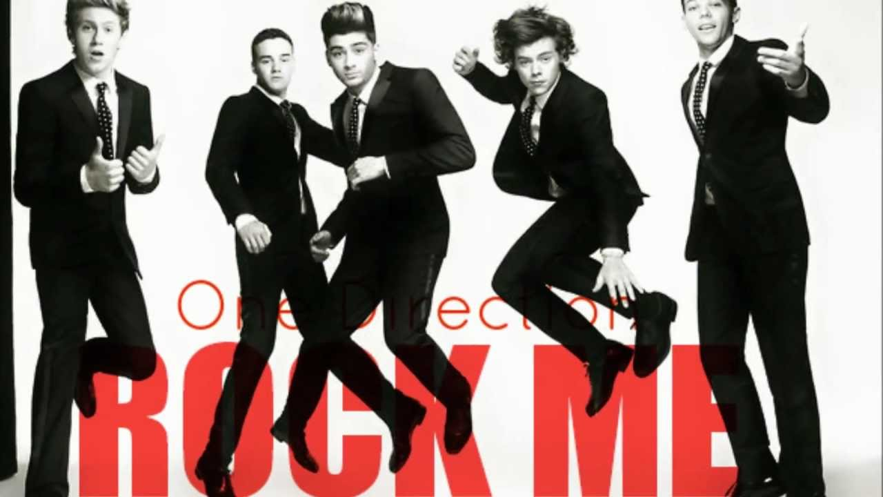 One Direction - Rock Me (Lyrics+Pictures+Download) HD