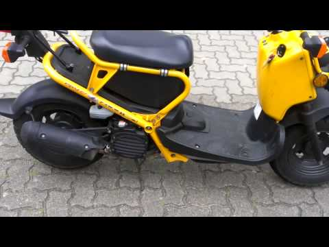 honda zoomer 50 ccm youtube. Black Bedroom Furniture Sets. Home Design Ideas