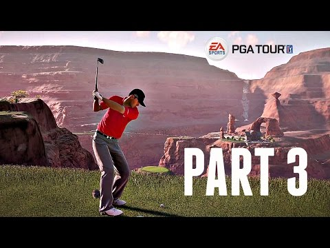 Rory McIlroy PGA Tour Walkthrough Part 3 - COYOTE FALLS - JORDAN SPIETH! (Xbox One/Ps4 Gameplay HD)