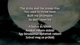 Bring Me The Horizon Throne English Lyrics Magyar Felirat