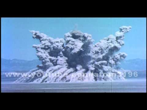 HD Ess shot operation teapot 1955 1000tons T.N.T explosion!