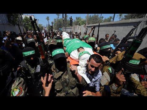 غزة تشيّع جثمان كريم أبو فطاير إلى مثواه الأخير  - نشر قبل 53 دقيقة