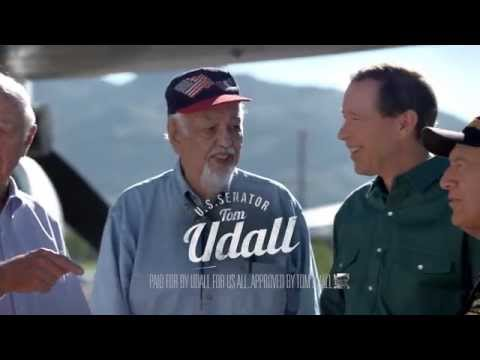 "Tom Udall for Senate TV Ad ""Doesn't Fly"""