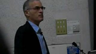 Norman Finkelstein at King's College London (pt. 1)