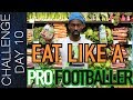 NUTRITION: WHAT SOCCER PLAYERS SHOULD EAT - meal plan, pre game meal etc. | Day 10