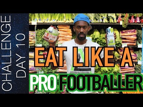 NUTRITION: WHAT SOCCER PLAYERS SHOULD EAT meal plan, pre game meal etc. | Day 10
