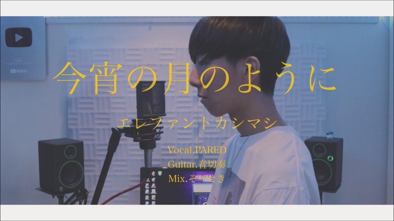 [cover] 今宵の月のように / PARED