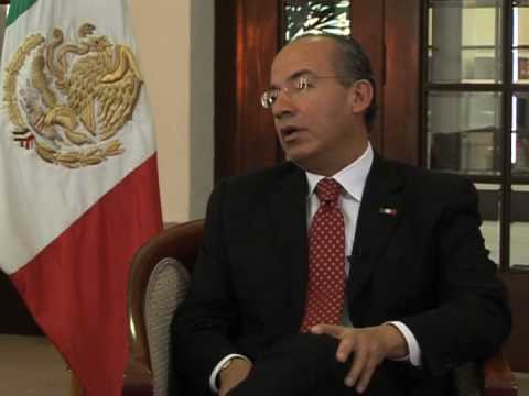 Exclusive interview with Mexican President Felipe Calderon