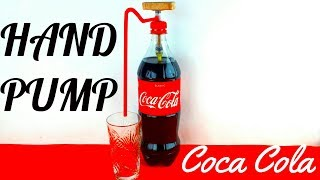 How to make a Mini Hand  Water Pump with Syringe