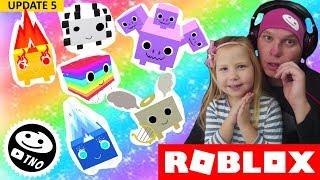 DUHOV- UPDATE A MAZL-KOVé - Regenbogen! Haustier Simulator! | Roblox | Tatének a Barunka CZ/SK