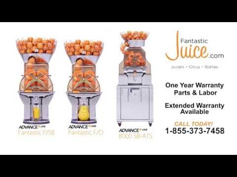 Citrocasa Self Service Juicers from Fantastic Juice: Benefits of Owning a Self Serve Juicer
