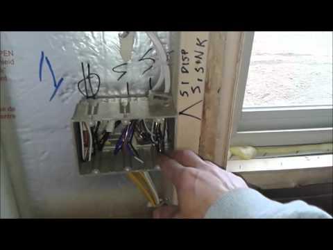 9. Жизнь в США, Nebraska - Работа электрика в новых домах - Residential electrician. Part 2