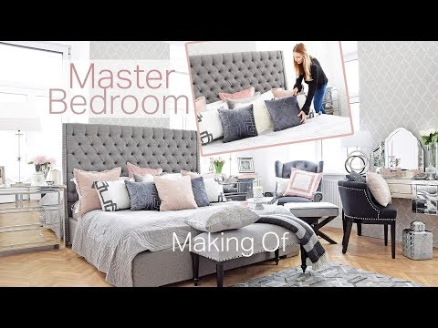 Master Bedroom DIY Schlafzimmer Get the Look Interior Decorating Room Makeover Roomtour Pure Velvet