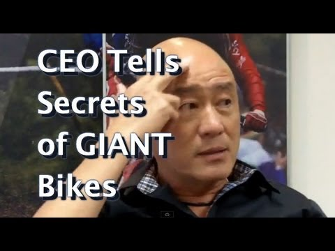 How I made GIANT the world's biggest bike company: CEO Antony Lo 巨大捷安特 羅祥安 Interview