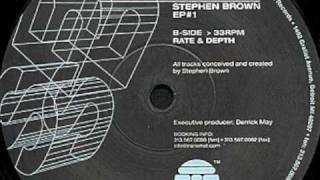 Stephen Brown - Rate and Depth