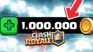 SPENDING 1,000,000 GOLD TO IMPROVE ALL MY LETTERS!! • Clash Royale | XHEO