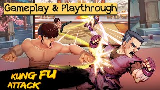 Kung Fu Attack:Offline Action RPG - Android / iOS Gameplay