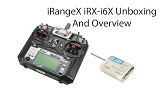 iRangeX iRX-i6X 2.4GHz 10CH AFHDS 2A RC Transmitter With A8S Receiver