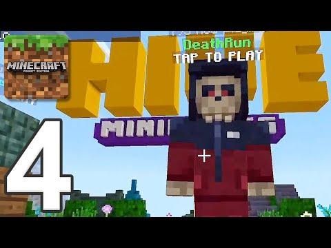 Minecraft: Servers - Gameplay Walkthrough Part 4 - Deathrun (iOS, Android)