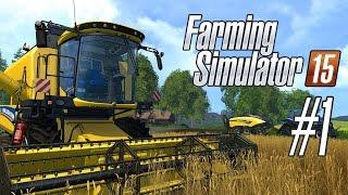 Farming Simulator 15 [#1] - Бьорнхольм. Обучение(Различные модификации для игры Вы сможете найти здесь: http://www.playground.ru/files/farming_simulator_15/ Музыка в видео: http://audiomi..., 2015-12-21T23:00:01.000Z)